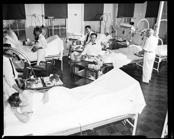 Long Beach Veterans Administration Hospital, 1954