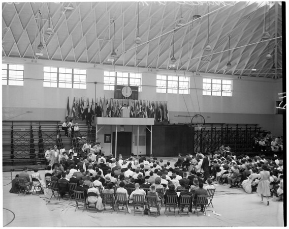 Model United Nations at St. Plus X High School, 1960