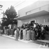 Dedication of new $550,000 addition Hawthorne Community Hospital, 1954