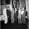 Peruvian delegation at Union Station, 1958