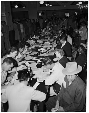 Income tax returns, 1954