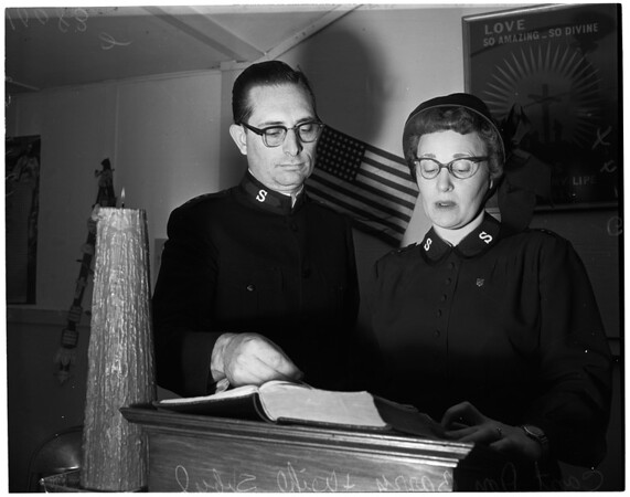 Bible reading marathon (Salvation Army), 1953
