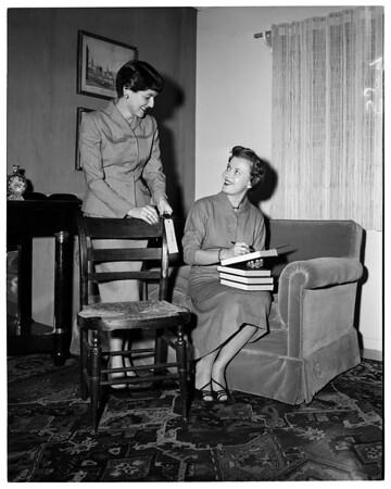"""""""Society"""" -- Boys Club Auxiliary Assistance League Thrift Shop, 1955"""