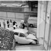 Traffic accident on Harbor Freeway, 1960