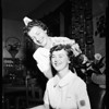 General Hospital nurses dance queen, 1954