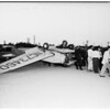 Plane crash Whiteman Airpark, San Fernando Road, 1951