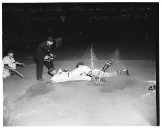 Los Angeles vs. Hollywood, 1955