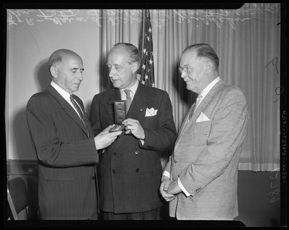 Netherlands award, 1960