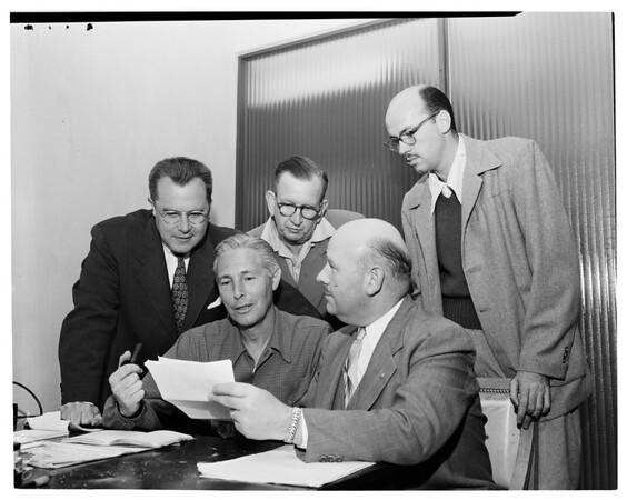 West Valley meeting, 1957