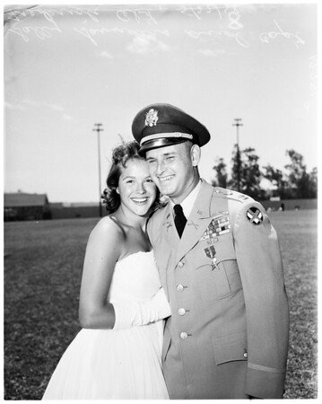University of California Los Angeles - Reserve Officer Training Corps Awards, 1958