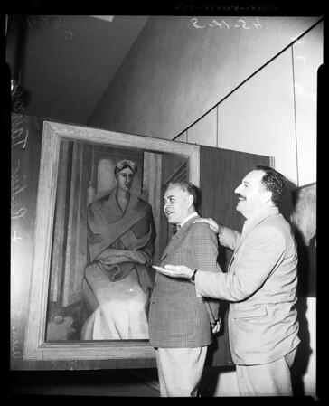 Art exhibit, 1954