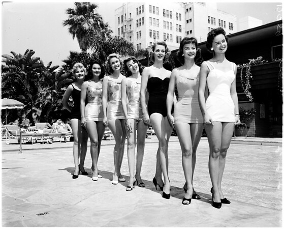Home Show Queen contestants, 1958