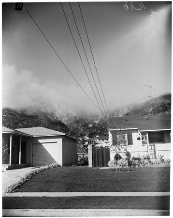 Sun Valley fire, 1953