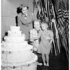 Girl Scout birthday party (Shrine Auditorium), 1954