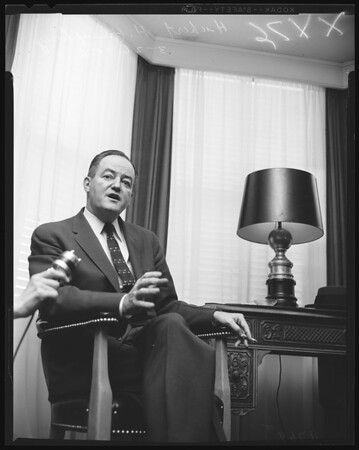 Humphrey interview, 1956