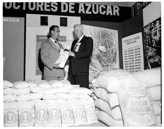 Cortines in Tijuana, 1955