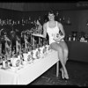 Examiner swim trophies, 1955