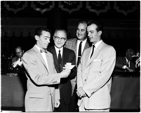 Statler Foundation awards, 1958