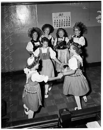 Swiss festival, 1955