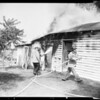 Garage fire in Sun Valley (9247 Telfair Avenue), 1954