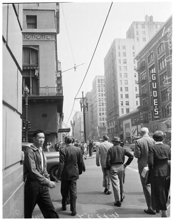 Steeple Jack at Los Angeles Athletic Club, 1954