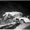 Pasadena freeway accident, 1955