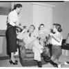 """""""Choo Choo"""" Goldberg returns, 1953"""