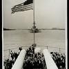 European refugees visit a U.S. battleship, 1939