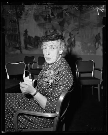 Interview at Statler, 1954