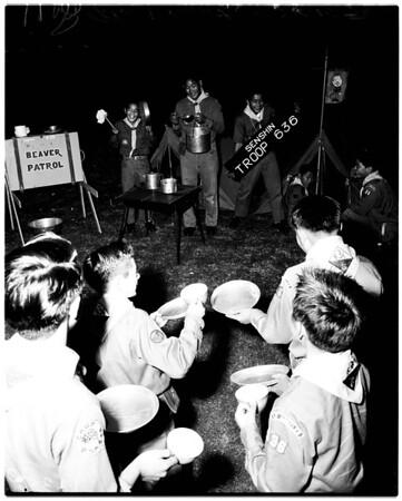 Nisei Boy Scouts feature, 1958