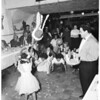 Pre-Chritsmas party for orphans of Franciscan Sisters Home for Girls, 1955