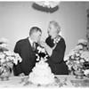 50th wedding anniversary, 1953