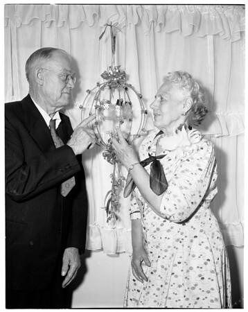Fiftieth Wedding Anniversary, 1956