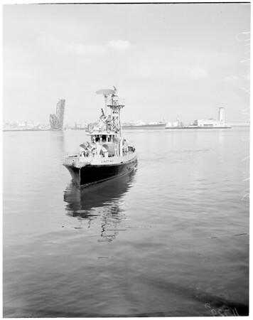 Fireboat Radar, 1956