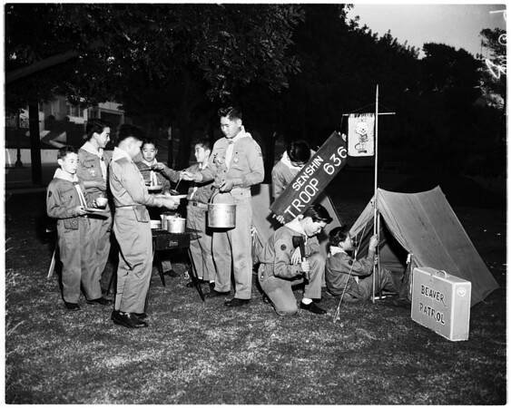 Nisei Boy Scouts feature, 1958