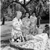 Wellesley Club gals, 1958