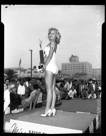 """Miss Muscle Beach of 1954"", 1954"