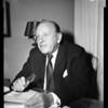 Interview, Beverly Hills Hotel, 1954