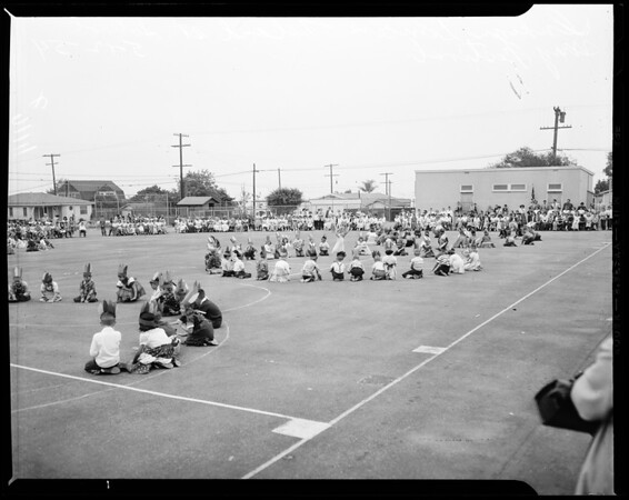 May Day (Leland Street School in San Pedro), 1954