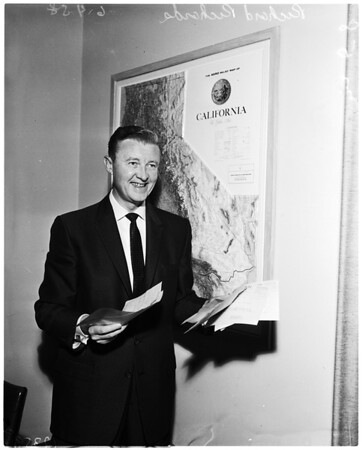 State senator election, 1958