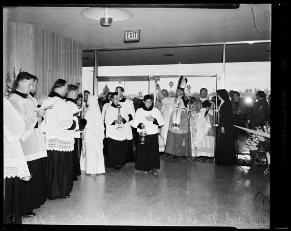 Daniel Freeman Memorial Hospital Inglewood dedication, 1954