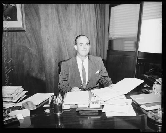 Belgium consul, 1960