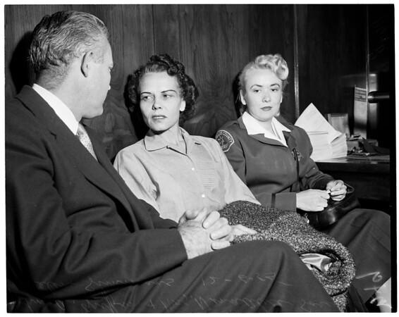Sorensen murder preliminary, 1955