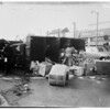Truck versus auto (6th Street and Fairfax Avenue),  1951