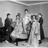 Japanese robes, 1954
