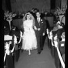 Wedding of Sergeant Ted Hershberger to Lee Smith, 1954