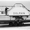 """Home built side wheeler boat for harbor (""""Dolphin""""), 1953"""