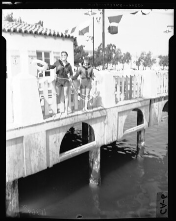 Girl Scouts Mariners at San Pedro, 1956