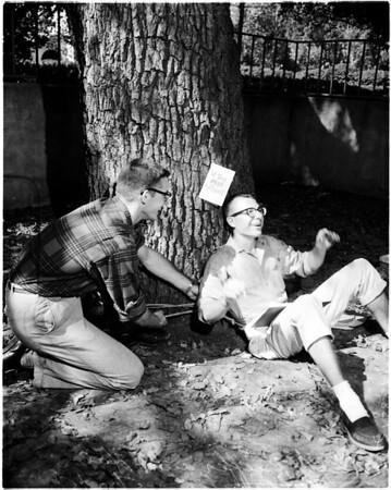 Caltech stunt, 1958