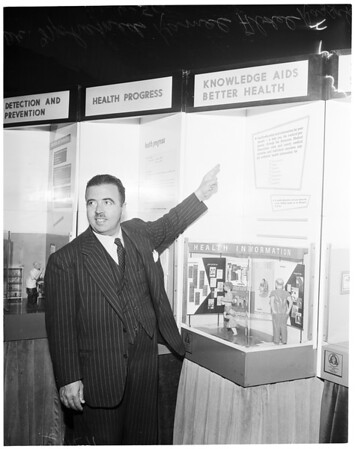 Medical Association show, 1956